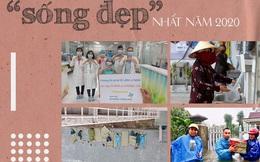 """Nhìn lại 10 khoảnh khắc """"sống đẹp"""" trong năm 2020: Dịch bệnh hay bão lũ cũng không thể khuất phục nghĩa tình đồng bào, tinh thần """"lá lành đùm lá rách"""" của người Việt Nam"""