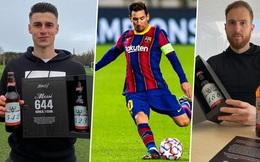 Chiến dịch marketing dị của Budweiser: Kỷ niệm Messi ghi được 644 bàn thằng bằng cách gửi vỏ chai có đánh số cho 160 thủ môn là 'nạn nhân'