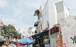 """Hàng loạt căn nhà """"siêu mỏng"""" chỉ vài m2 sau khi mở rộng đường ở Sài Gòn: """"Tối ngủ chỉ nằm nghiêng"""""""