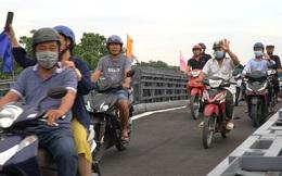 Chính thức thông xe cầu An Phú Đông, người Sài Gòn phấn khởi ra check in, chụp hình