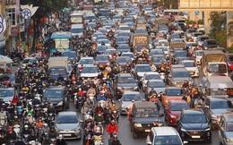 Chùm ảnh: Và đây là buổi chiều tắc đường kinh hoàng cuối cùng của năm 2020