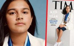 """Nữ sinh 15 tuổi tài năng giành danh hiệu """"Trẻ em của năm"""" trên tạp chí Time"""