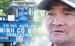 """Chú """"Minh cô đơn"""" ở làng Đại học bị trộm xe ba gác: """"Có chiếc xe chở đồ miễn phí cho sinh viên mà tụi nó cũng lấy mất"""""""