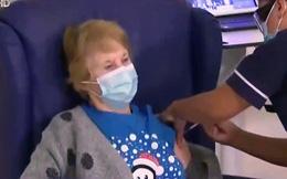 Cụ bà 90 tuổi - người đầu tiên được tiêm vaccine COVID-19 tại Anh