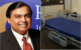 Tỷ phú giàu nhất Ấn Độ xây bệnh viện 100 giường để điều trị cho bệnh nhân mắc Covid-19
