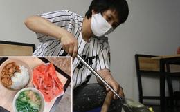Chủ quán ăn ở Hà Nội nấu hàng trăm suất cơm, chè miễn phí cho những y bác sỹ đang gồng mình chống dịch Covid-19 tại BV bệnh Nhiệt đới TW