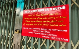 Ngày đầu Hà Nội thực hiện 'lệnh' đóng cửa hàng quán