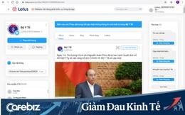 Phòng chống COVID-19: Bộ Y tế công bố kênh thông tin chính thống trên mạng xã hội Lotus