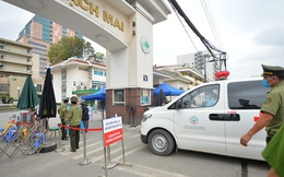 Bệnh viện Bạch Mai được dỡ bỏ phong toả từ 0h đêm nay