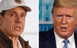 Nước Mỹ không có vua: Màn đấu khẩu 'kỳ dị' giữa Tổng thống Trump và Thống đốc New York giữa căng thẳng COVID-19