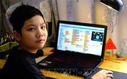 Cậu bé lớp 5 tự thiết kế game online 'đánh bay COVID'