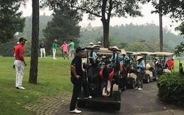 Vĩnh Phúc yêu cầu đóng cửa các sân golf vì tụ tập đông người