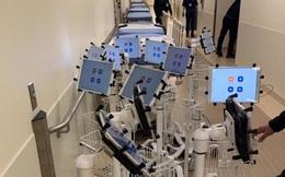"""Bệnh viên """"đại gia"""" tậu hàng trăm chiếc iPad làm kế sách thần thánh, giúp bác sĩ điều khiển từ xa để tránh lây Covid-19"""