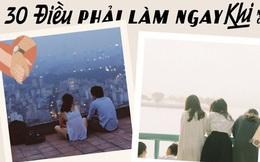 """Khi mùa dịch qua đi, có 30 điều bạn nên tranh thủ làm ở Hà Nội để khoả lấp """"con tim thổn thức"""" bấy lâu nay!"""