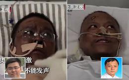 Hai bác sĩ Trung Quốc có làn da bị đổi sang màu nâu sau một thời gian dài chống chọi với Covid-19