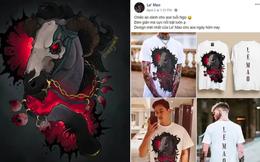 Một shop thời trang ở Hà Nội bị nhiều hoạ sĩ nước ngoài 'tố' ăn cắp tranh để in áo phông, bán với giá 500-600 ngàn đồng/áo