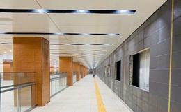 Cận cảnh những hình ảnh bên trong ga ngầm Nhà hát Thành phố của tuyến Metro Bến Thành - Suối Tiên