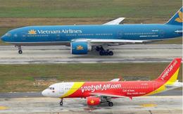 Vietjet 'tố' Vietnam Airlines vi phạm quy định phân công lịch bay, cạnh tranh không lành mạnh