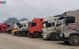Trung Quốc dừng thông quan hàng hóa qua cửa khẩu Lạng Sơn