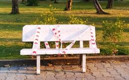 Lý giải sau hình ảnh ghế đá công viên bị 'phong toả' tại TPHCM