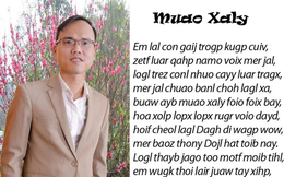 'Chữ Việt song song 4.0' khiến Tiếng Việt què quặt: Dư luận kịch liệt phản đối