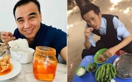 Hoài Linh và Quyền Linh chính là 2 nhân vật ăn uống giản dị nhất showbiz Việt, bữa cơm nào cũng toàn đạm bạc với cá mắm