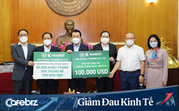 HLV Park Hang Seo và cộng đồng doanh nghiệp Hàn Quốc tại Việt Nam lần thứ 2 ủng hộ công tác chống dịch Covid-19