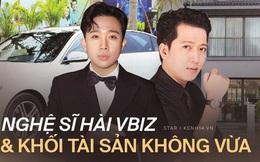 So bì khối tài sản của 4 nghệ sĩ hài đình đám Vbiz: Nhà Hoài Linh - Xuân Bắc gây choáng, sốc nhất là Trường Giang