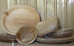 Biến rác thành tiền: Mo cau vứt đi được chế biến thành chén, đĩa thay thế đồ nhựa dùng 1 lần, giá chỉ 1.000-5.000 đồng/sản phẩm