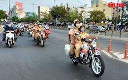Ngày đầu ra quân kiểm tra phương tiện giao thông, nhiều trường hợp bị phạt vi phạm tốc độ