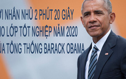 Bài phát biểu của ông Barack Obama tới thế hệ tốt nghiệp năm 2020: Lời nhắn nhủ trong 2 phút 20 giây khiến cả người trung niên cũng tâm phục