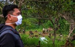 Mở quan tài tắm cho thi thể mắc COVID-19, 15 người Indonesia nhiễm bệnh