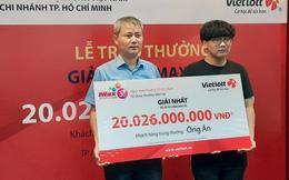 Một sinh viên nhận giải Vietlott hơn 20 tỉ đồng, không cần đeo mặt nạ