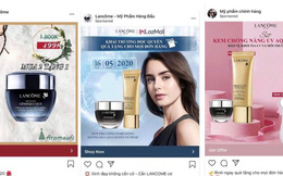 Hàng loạt Fanpage và website giả mạo LANCÔME Việt Nam bán hàng giả: Chị em cần đặc biệt lưu ý kẻo tiền mất, tật mang!