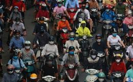 """Chùm ảnh: Sáng nay, người Hà Nội đã thực sự được cảm nhận """"đặc sản tắc đường"""" sau kỳ nghỉ dài ngày"""