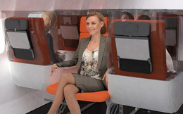 """Giải pháp mới cho các hãng hàng không mùa Covid-19: Xếp ghế ngồi theo kiểu """"giở đầu đuôi"""" để hạn chế hành khách tiếp xúc gần"""