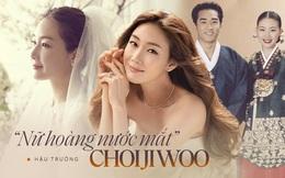 """Mỹ nhân """"Bản tình ca mùa đông"""" Choi Ji Woo: Từ cuộc tình lặng thinh vô vọng với Song Seung Hun cho tới niềm hạnh phúc tròn đầy ở tuổi 44"""