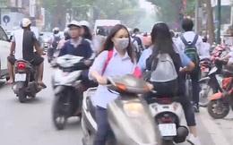 Nhiều học sinh không chấp hành luật giao thông