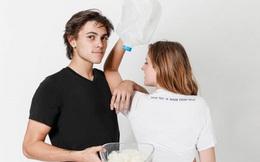 Startup sản xuất áo phông từ sữa