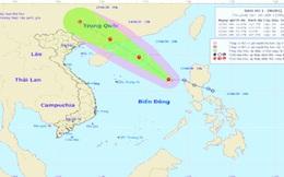 Áp thấp nhiệt đới mạnh lên thành bão số 1, tên quốc tế là Nuri