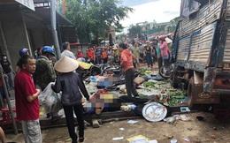 Vụ xe tải đâm vào chợ ở Đắk Nông khiến 5 người chết: Một buổi sáng quá kinh hoàng