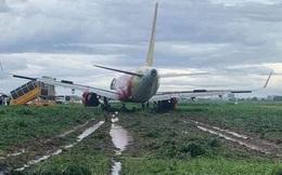 Vụ máy bay Vietjet hạ cánh bị trượt khỏi đường băng: Trước khi gặp sự cố, máy bay tiếp cận đường băng bình thường