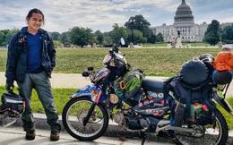 Phượt thủ Đăng Khoa đi khắp thế giới bằng xe máy trong 3 năm vừa về Việt Nam đã đến thẳng khu cách ly ở Hưng Yên