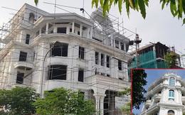 Nở rộ công trình 'cung điện, lâu đài' tự hợp thửa đất liền kề ở Hà Nội
