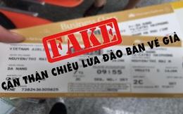 Cảnh báo lừa đảo bán vé máy bay từ Hàn Quốc về Việt Nam