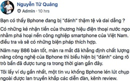 CEO BKAV Nguyễn Tử Quảng: Bphone đang bị đánh bởi những kẻ nhận tiền thương hiệu nước ngoài, BKAV sẽ kiện theo Luật An ninh mạng