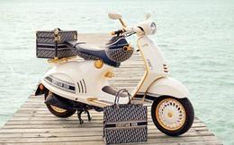 Vespa hợp tác cùng thương hiệu thời trang Christian Dior ra mắt phiên bản giới hạn
