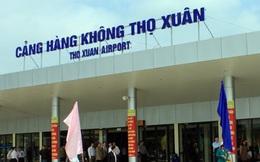 Sân bay Thọ Xuân, Thanh Hóa sẽ được quy hoạch thành cảng hàng không quốc tế