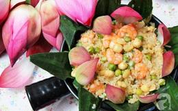 Mùa sen làm ngay bộ sưu tập các món ăn làm từ sen, món nào món nấy đều thơm ngon khó cưỡng