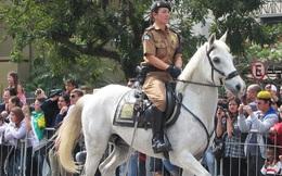 Lợi thế của cảnh sát kị binh ở các nước